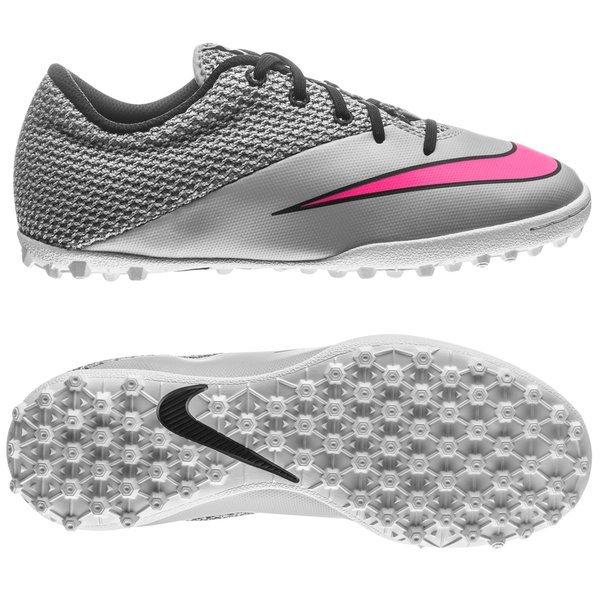 best choice a335c b382f Nike MercurialX Pro TF Wolf Grey Hyper Pink Black Kids    www.unisportstore.com