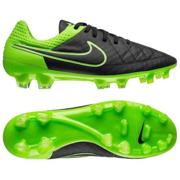 Nike Tiempo Legend V FG Black/Green