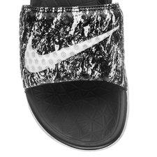 7985a2471dd2 Nike Badesandal Benassi Solarsoft 2 SCR Sort Hvid