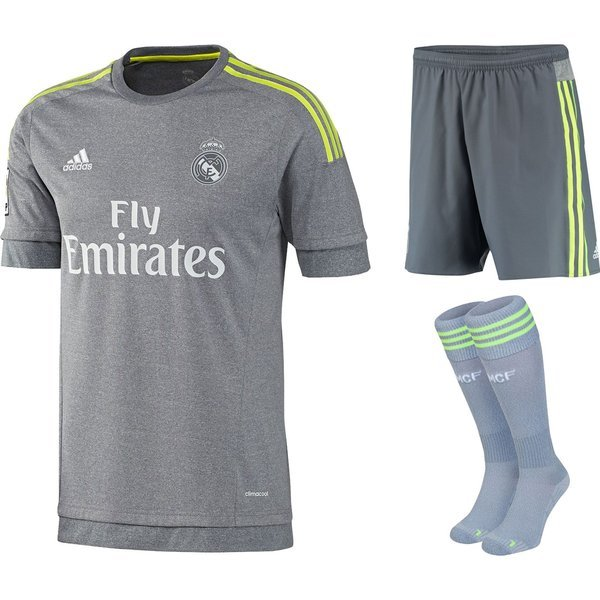 new product a06f7 d62ff Real Madrid Away Kit 2015/16 Kids | www.unisportstore.com