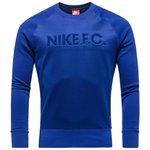 Nike F.C. Sweatshirt AW77 Crew Blå