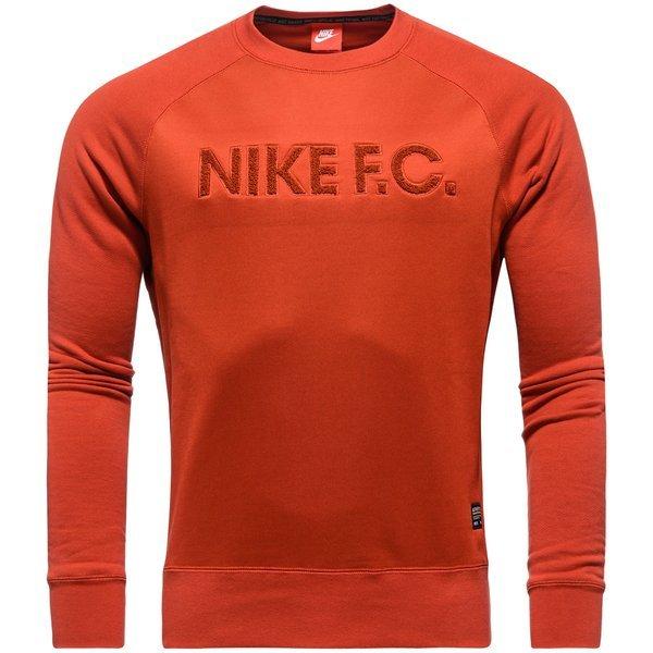 Nike F.C. Sweatshirt AW77 Crew Rood | unisportstore.nl