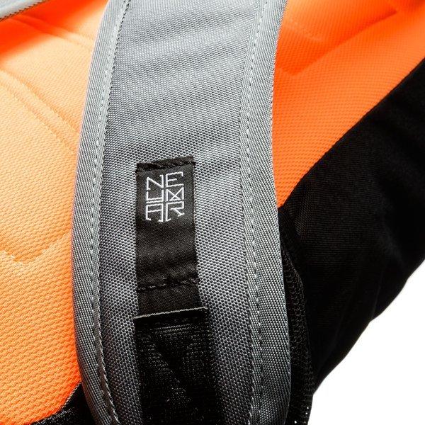 Nike Rucksack Neymar Shield Compact 2.0 GrauSchwarzOrange