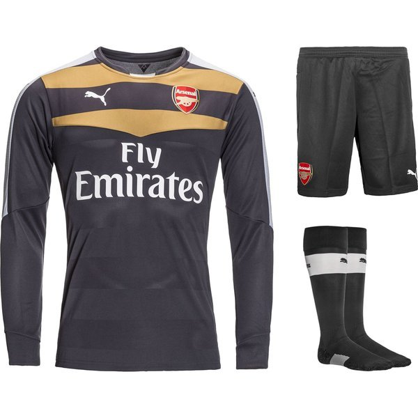 Arsenal Goalkeeper Kit 2015 16 Kids. Read more about the product. -  football shirts image shadow 3e022e40c
