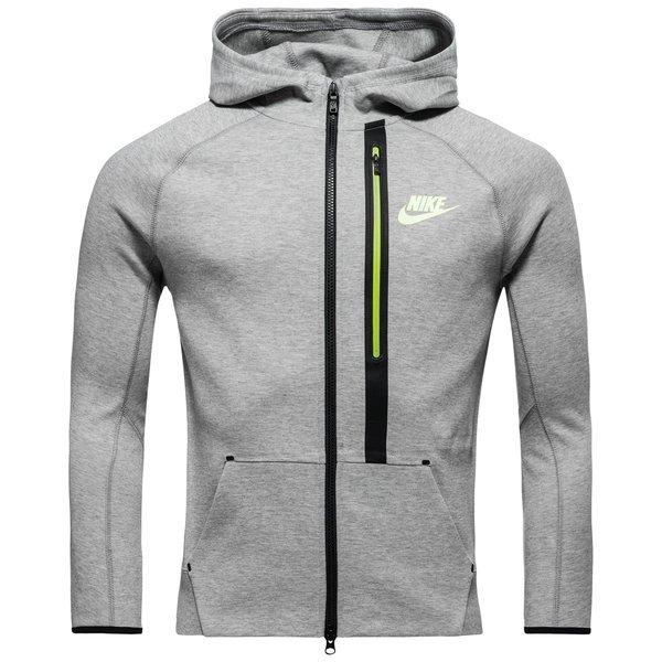 Nike Jacket Grey and Neon Green