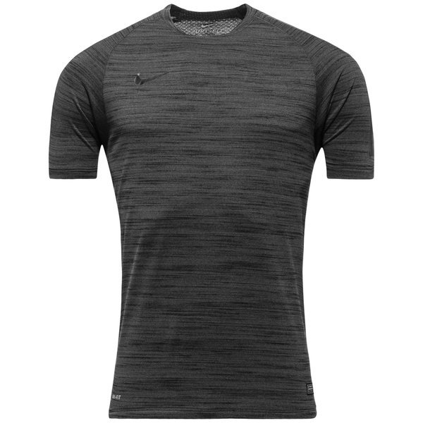 nike training t shirt flash dri fit knit black heather. Black Bedroom Furniture Sets. Home Design Ideas