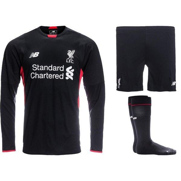 premium selection c27e6 32b88 Liverpool Goalkeeper Kit 2015/16 Black | www.unisportstore.com