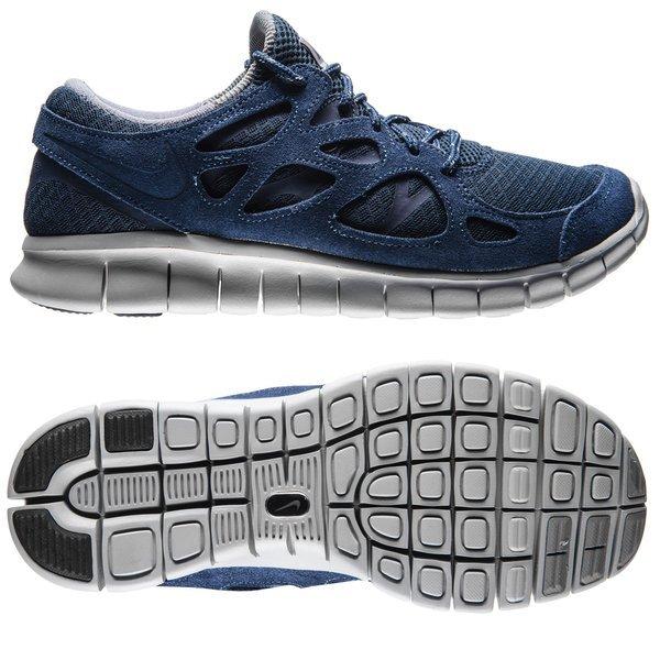moins cher 04cf3 dcfa2 Nike Free Running Shoe Run 2 Midnight Navy/Flat Silver | www ...