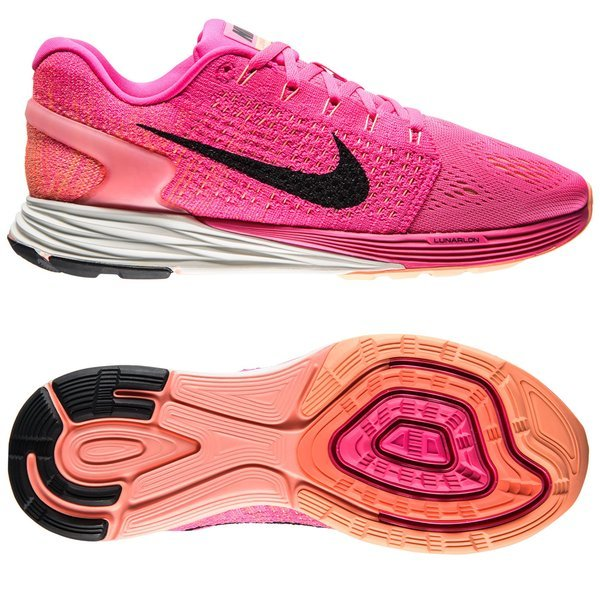 best service f9941 17d96 140.00 EUR. Price is incl. 19% VAT. -50%. Nike Running Shoe Lunarglide 7  Pink Foil Pink Pow Sunset Glow Black Women