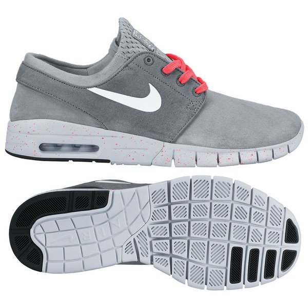 premium selection c0c32 bf3a7 130.00 EUR. Price is incl. 19% VAT. Nike SB Stefan Janoski Max Suede Wolf  Grey Cool ...
