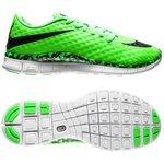 Nike Free Hypervenom Neongrøn/Sort/Hvid Børn