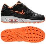 Nike Air Max 90 FB  Sort/Orange/Hvid Børn