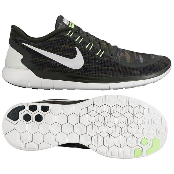 f2ab4e15bfb8 Nike Free Running Shoe 5.0 Print Sequoia Turbo Green Crystal Green ...