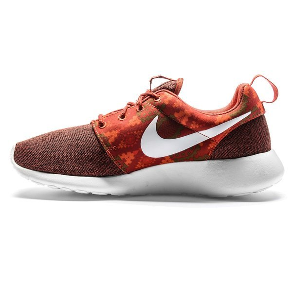 buy online 6b872 e5a55 ... sko print rabatt dame 50 ocqu4f c3285 7449d  denmark nike roshe one  print burgunder oransje. les mer om produktet. sneakers. sneakers