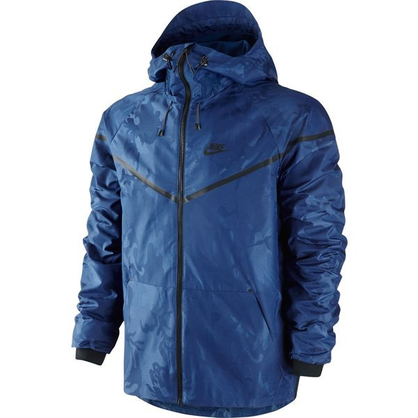 e3ff701918 nike windrunner tech woven deep royal blue black ...