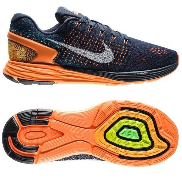 buy online dc5b9 801ae Nike Running Shoe Lunarglide 7 Dark Obsidian Summit White Total ...
