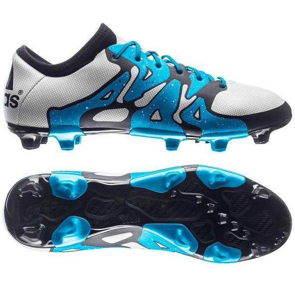buy online 267a6 98161 adidas X 15.2 FG/AG White/Solar Blue/Core Black | www ...