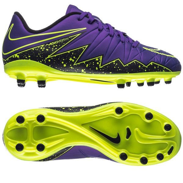 Nike Hypervenom Phelon II FG Hyper Grape/Black/Volt Kids. Read more about  the product. Compare models. - football boots. - football boots