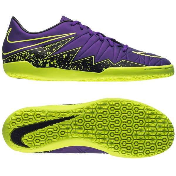 size 40 4296d d29b3 75.00 EUR. Price is incl. 19% VAT. -70%. Nike Hypervenom Phelon II IC Hyper  Grape Black Volt