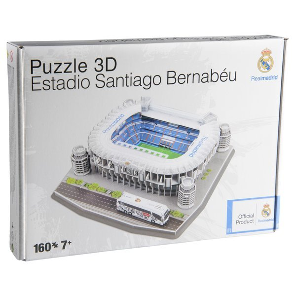 Real Madrid Puzzle 3D Estadio Santiago Bernabéu