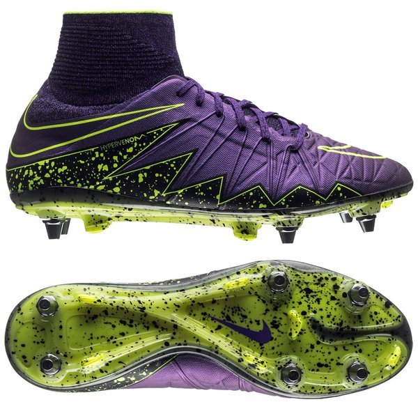 new style 701d7 d2f92 Nike Hypervenom Phantom II SG-PRO Hyper Grape/Black/Volt ...
