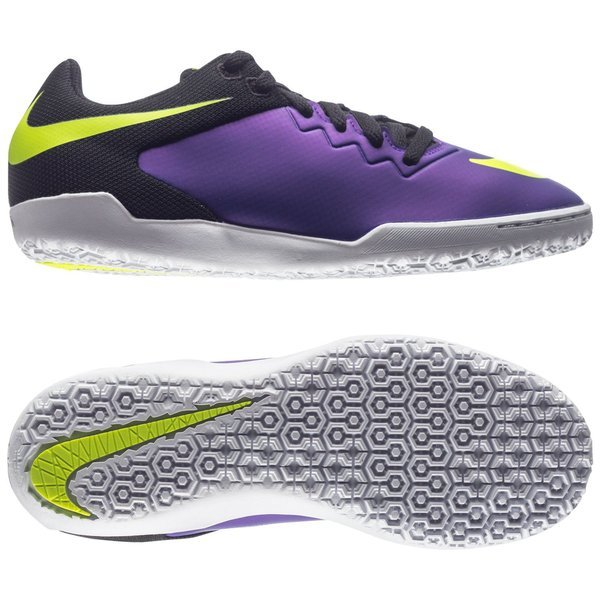 Nike HypervenomX Pro IC Hyper Grape/Black/Volt Kids. Read more about the  product. - indoor shoes. - indoor shoes