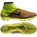 Nike Magista Obra Skind Tech Craft AG Sand/Sort/Neon
