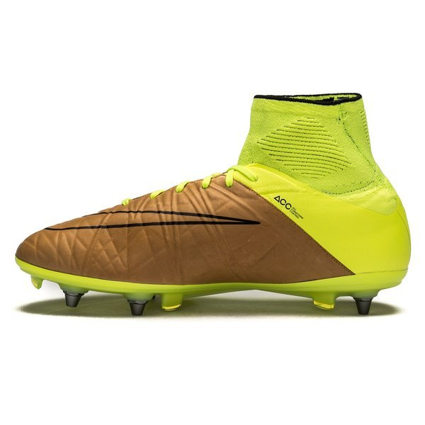 0caa5188e66 Nike Hypervenom Phantom II Leather Tech Craft SG-PRO Canvas Black Volt