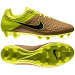 Nike Magista Orden Skind Tech Craft FG Sand/Sort/Neon