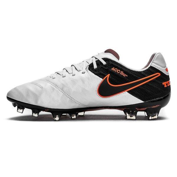 45dd31118168 Nike Tiempo Legend 6 FG Pure Platinum/Black/Metallic Silver/Hyper Orange