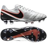 Nike Tiempo Legend 6 FG Hvid/Sort/Orange