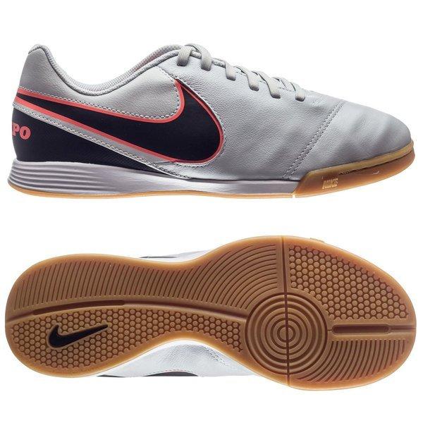 check out 7fb12 f949f Nike Tiempo Legend 6 IC Pure Platinum/Black/Hyper Orange ...
