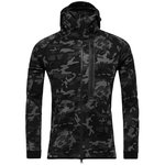 Nike Hættetrøje Tech Fleece Camo Sort/Navy