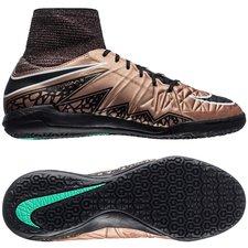 Nike - HypervenomX Proximo IC Brons/Svart/Grön Barn