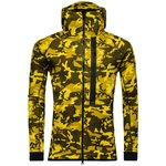Nike Hættetrøje Tech Fleece Camo Gul/Brun