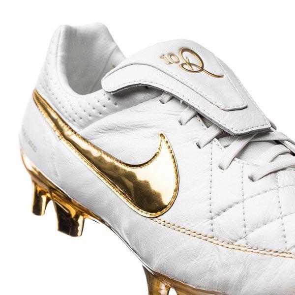 4d0a4e9db ... sweden nike tiempo legend v premium r10 fg touch of gold limited  edition unisportstore.no