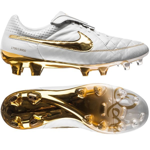 detailed look d5c6f 69ee6 Nike - Tiempo Legend V Premium R10 FG Touch of Gold LIMITED EDITION