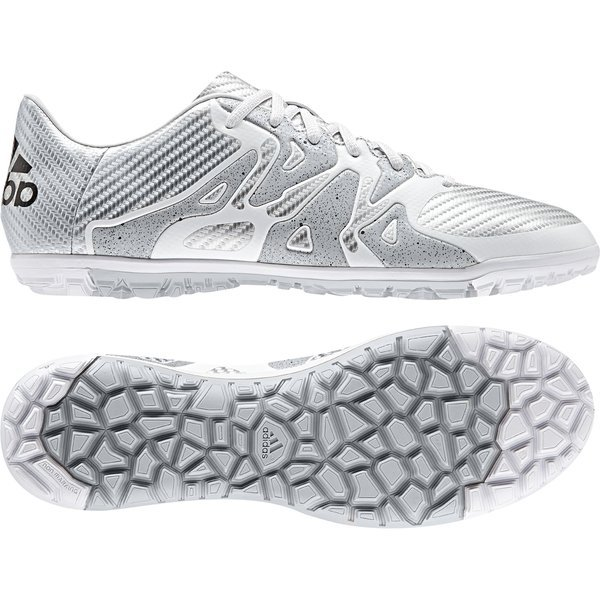differently be64c cff31 adidas X 15.3 TF White/Core Black/Silver Metallic | www ...