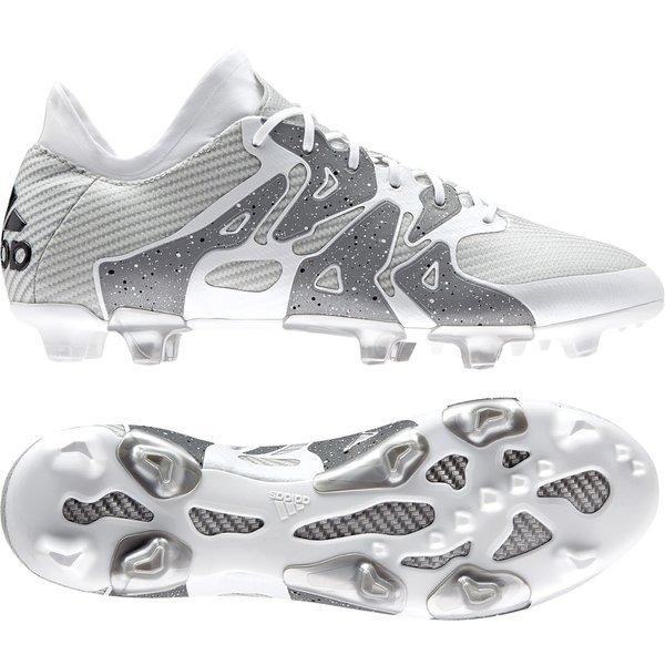 d475847d3 €200. Price is incl. 19% VAT. adidas X 15.1 FG/AG White/Core Black/Silver  Metallic