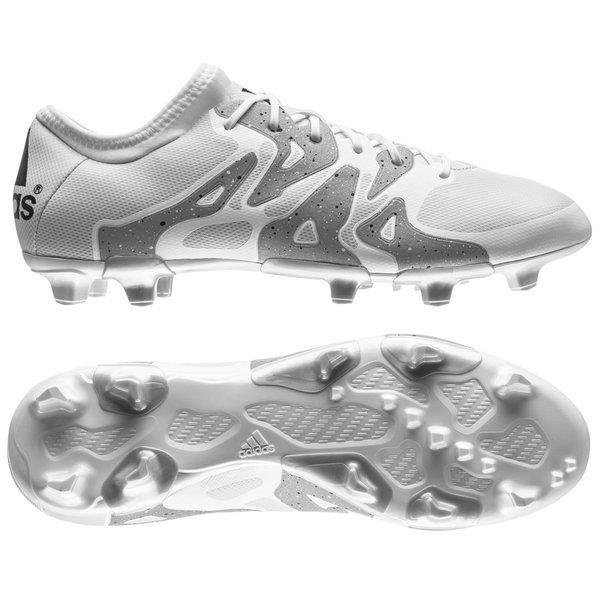 adidas X 15.2 FG AG White Core Black Silver Metallic  3f057e2d1