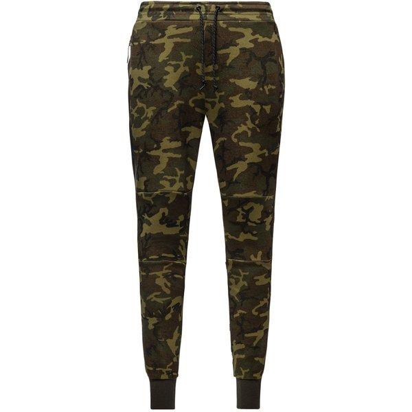 e41508fecf2 Nike Training Trousers Tech Tech Fleece Camo Sequoia/Black | www ...
