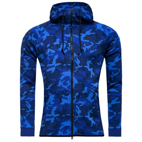 nike fleece jakke camo