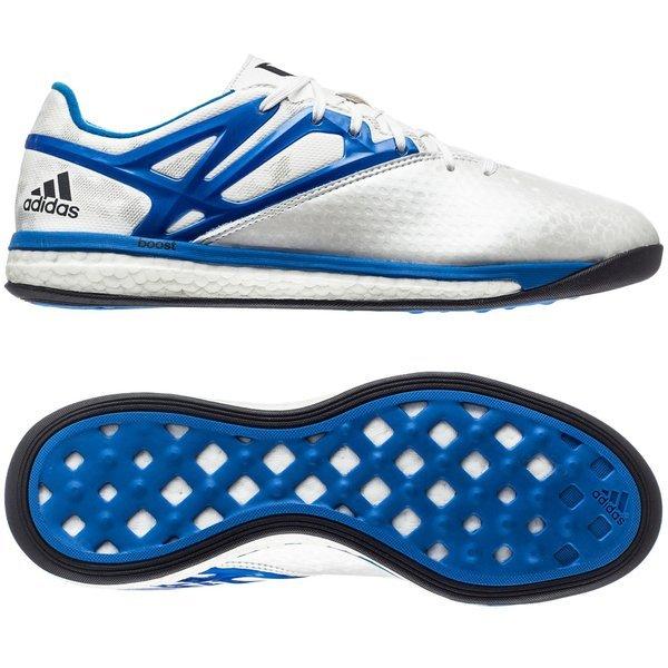 9427b27d6fc 110.00 EUR. Price is incl. 19% VAT. -60%. adidas Messi 15.1 Boost White Prime  Blue Core Black