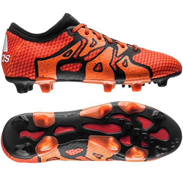 adidas X 15.1 Primeknit FG AG Solar Orange Core Black Bold Orange ... f786a1a525