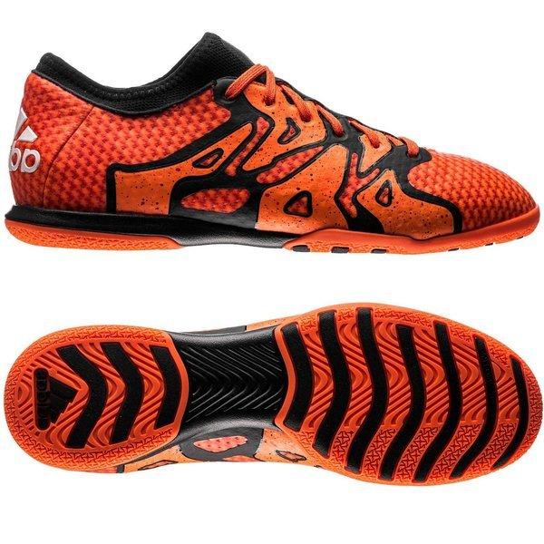 reputable site 7e5d1 92d42 ... adidas X 15.1 Primeknit Court IN Bold Orange Core Black Solar Orange .