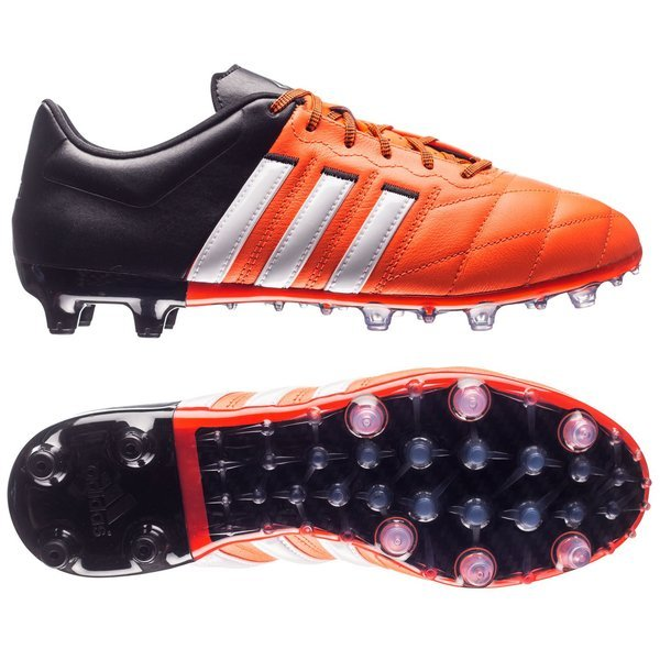 4c82e2693 adidas Ace 15.2 Leather FG AG Solar Orange White Core Black. Read more  about the product. - football boots. - football boots image shadow