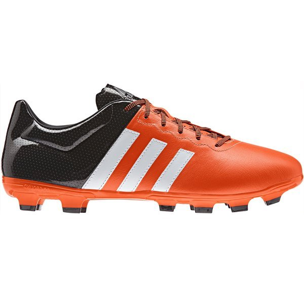 adidas ACE 15.3 IN Leder OrangeWeißSchwarz