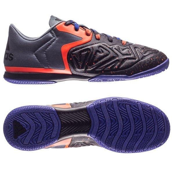 adidas - X 15.2 Court IN Svart Lila Orange  f3397c8fb22ed