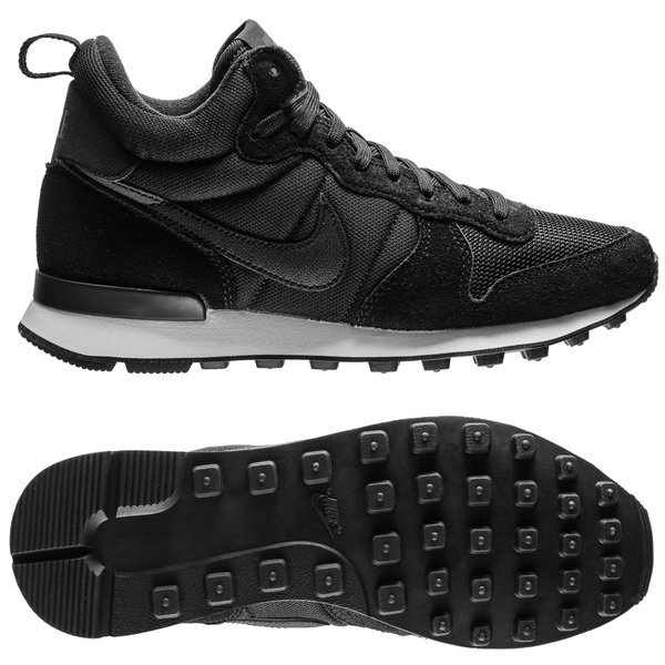 nike internationalist mid zwarte hoge sneakers