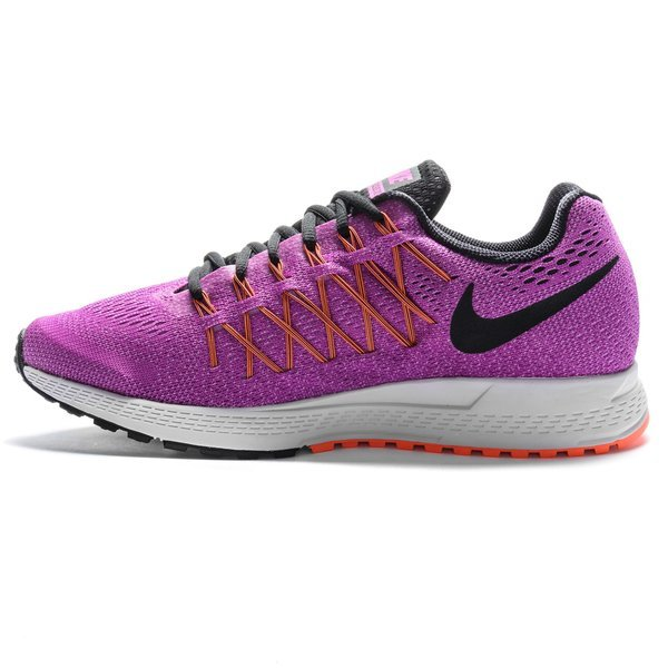Womens Shoes Nike Air Zoom Pegasus 32 Vivid Purple/Fuchsia Glow/Hyper Orange/Black
